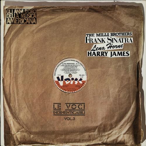 Frank Sinatra Le Voci Indimenticabili Vol.3 vinyl LP album (LP record) Italian FRSLPLE580402