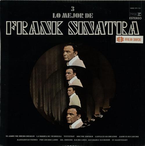 Frank Sinatra Lo Mejor De Frank Sinatra Vol. 3 vinyl LP album (LP record) Spanish FRSLPLO581218