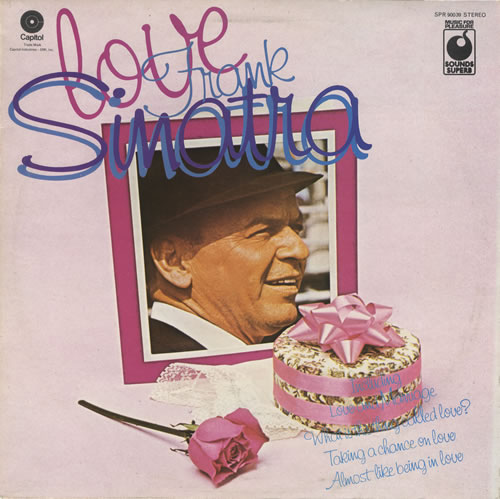 Frank Sinatra Love vinyl LP album (LP record) UK FRSLPLO457615