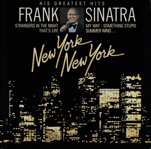 Frank Sinatra New York New York - His Greatest Hits vinyl LP album (LP record) German FRSLPNE580450