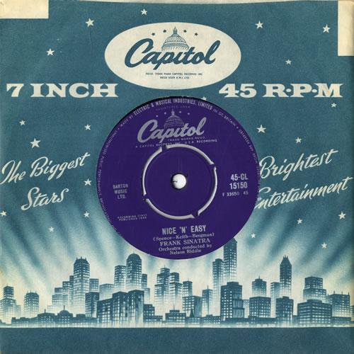 "Frank Sinatra Nice 'N' Easy 7"" vinyl single (7 inch record) UK FRS07NI562470"