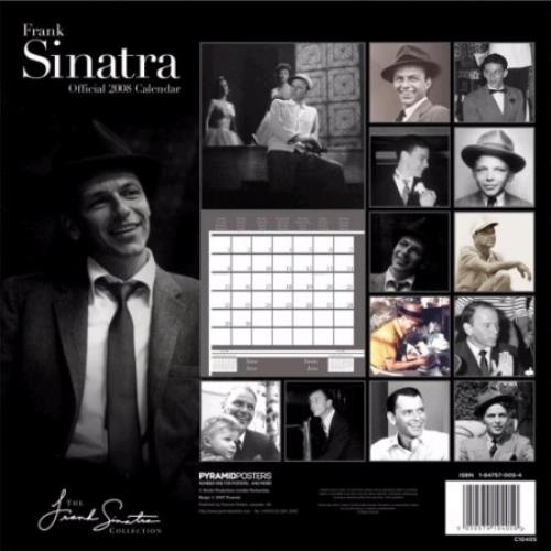 Frank Sinatra Official Calendar 2008 calendar UK FRSCAOF394371