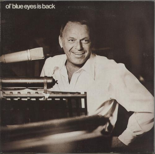 Frank Sinatra Ol' Blue Eyes Is Back - 1st + Insert vinyl LP album (LP record) US FRSLPOL672812
