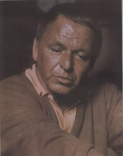Frank Sinatra Ol' Blue Eyes Is Back - 1st + Insert vinyl LP album (LP record) US FRSLPOL672812