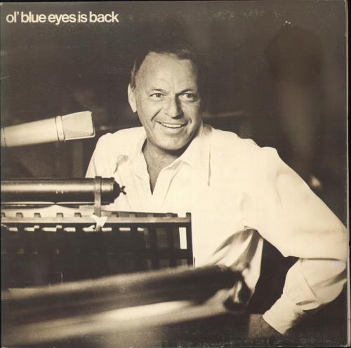 Frank Sinatra Ol' Blue Eyes Is Back vinyl LP album (LP record) UK FRSLPOL411647