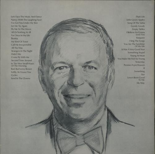 Frank Sinatra Portrait Of Sinatra 2-LP vinyl record set (Double Album) German FRS2LPO762400