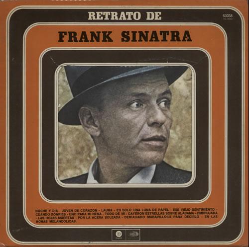 Frank Sinatra Retrato De Frank Sinatra vinyl LP album (LP record) Argentinean FRSLPRE581112