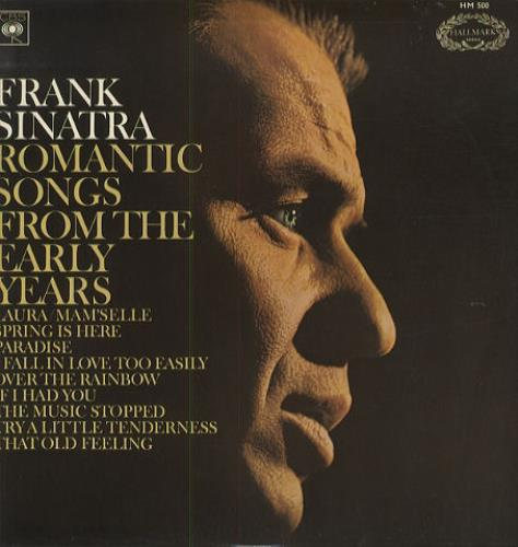 Frank Sinatra Romantic Songs From The Early Years - EX vinyl LP album (LP record) UK FRSLPRO294452