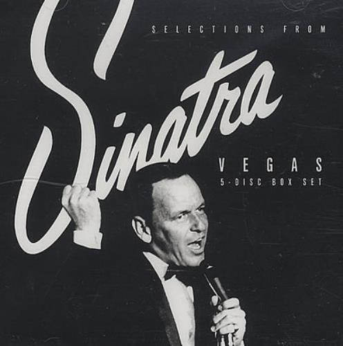 Frank Sinatra Selections From 'Sinatra Vegas' CD album (CDLP) US FRSCDSE382669