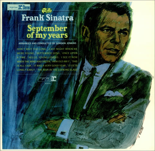 Frank Sinatra September Of My Years vinyl LP album (LP record) UK FRSLPSE382417