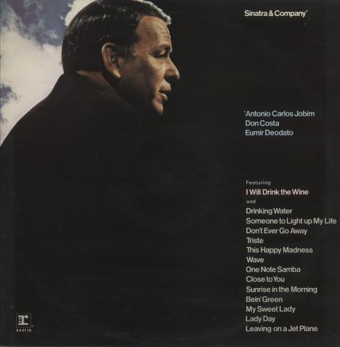Frank Sinatra Sinatra & Company - glossy p/s vinyl LP album (LP record) UK FRSLPSI748011