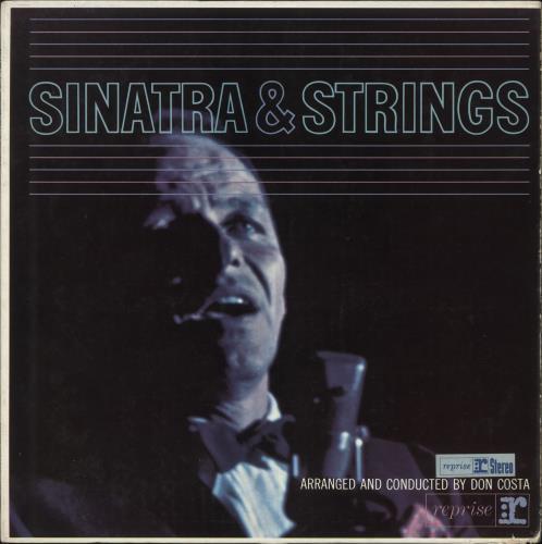 Frank Sinatra Sinatra & Strings vinyl LP album (LP record) UK FRSLPSI457242