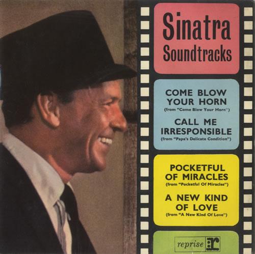 "Frank Sinatra Sinatra Soundtracks EP 7"" vinyl single (7 inch record) UK FRS07SI469884"