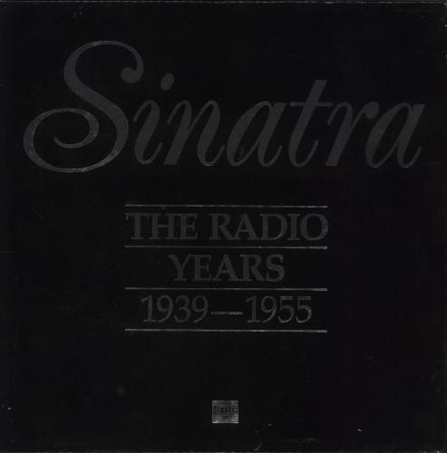 Frank Sinatra Sinatra The Radio Years 1939-1955 Vinyl Box Set UK FRSVXSI723674