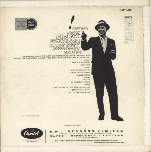 Frank Sinatra Sinatra's Swingin' Session!!! - 1st vinyl LP album (LP record) UK FRSLPSI457586