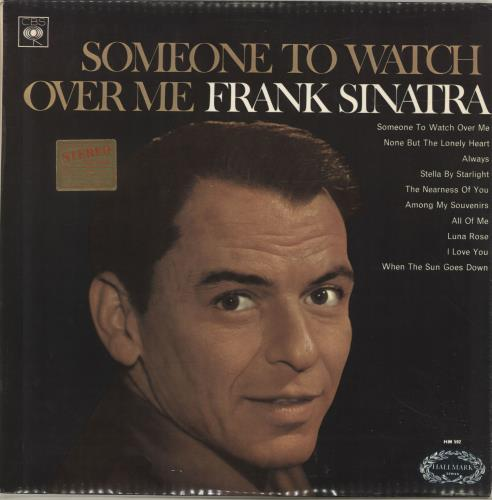 Frank Sinatra Someone To Watch Over Me vinyl LP album (LP record) UK FRSLPSO693412
