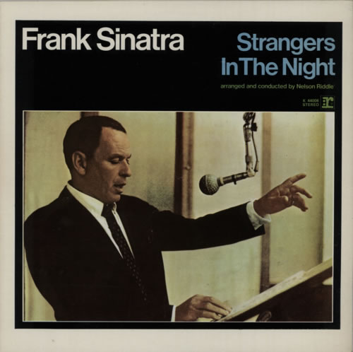 Frank Sinatra Strangers In The Night vinyl LP album (LP record) UK FRSLPST616916