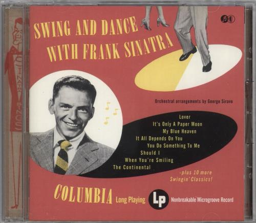 Frank Sinatra Swing And Dance With Frank Sinatra CD album (CDLP) UK FRSCDSW730741