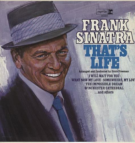 Frank Sinatra That's Life vinyl LP album (LP record) UK FRSLPTH474873
