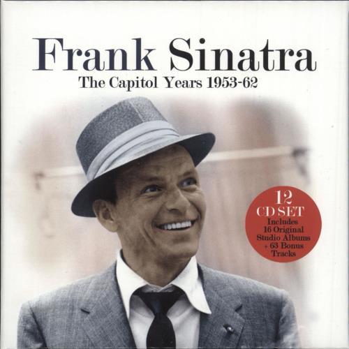 Frank Sinatra The Capitol Years 1953-62 CD Album Box Set UK FRSDXTH730144