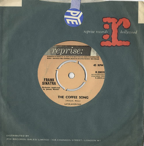 Frank Sinatra The Coffee Song UK 7