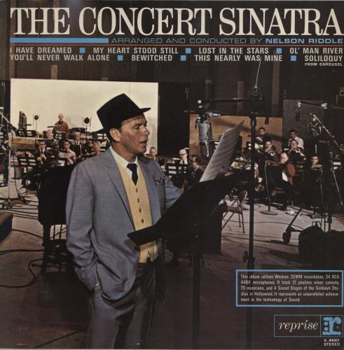 Frank Sinatra The Concert Sinatra - glossy p/s vinyl LP album (LP record) UK FRSLPTH449559