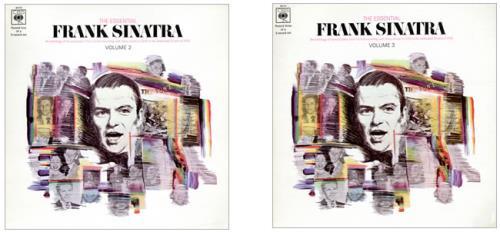Frank Sinatra The Essential Frank Sinatra Volumes 1-3 2-LP vinyl record set (Double Album) UK FRS2LTH339510