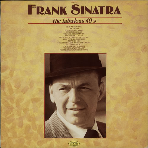Frank Sinatra The Fabulous 40's vinyl LP album (LP record) Italian FRSLPTH580378