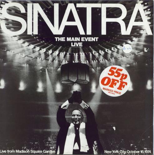 Frank Sinatra The Main Event: Live vinyl LP album (LP record) UK FRSLPTH458647