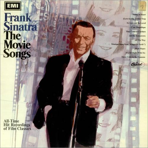 Frank Sinatra The Movie Songs vinyl LP album (LP record) UK FRSLPTH455260