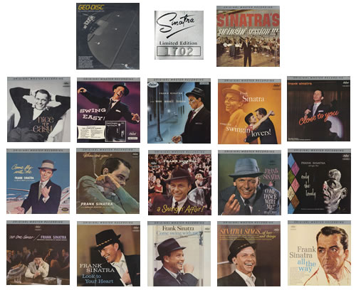 Frank Sinatra The Sinatra Collection Uk Box Set 260104