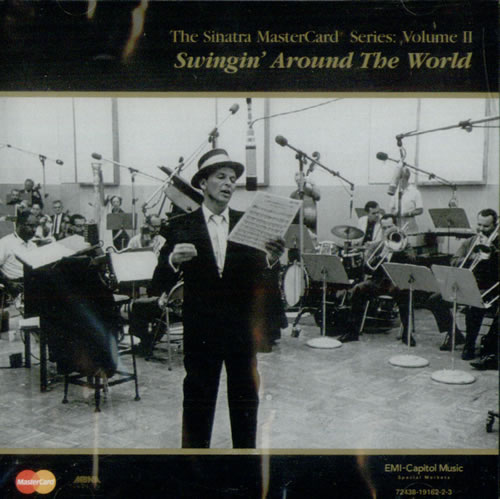Frank Sinatra The Sinatra Mastercard Series: Volume 2  Swingin' Around CD album (CDLP) US FRSCDTH529840