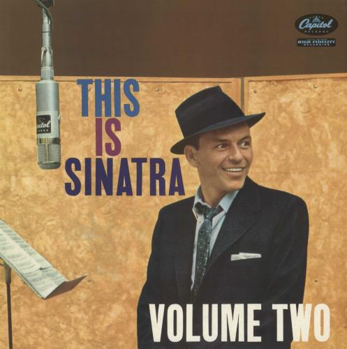 Frank Sinatra This Is Sinatra Volume Two vinyl LP album (LP record) UK FRSLPTH437194