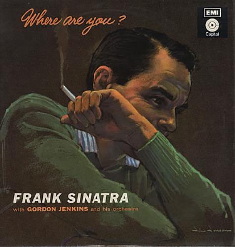 Frank Sinatra Where Are You? vinyl LP album (LP record) UK FRSLPWH382419