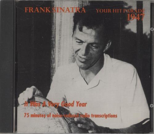 Frank Sinatra Your Hit Parade 1947 CD album (CDLP) UK FRSCDYO730140
