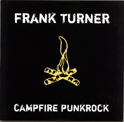 "Frank Turner Campfire Punkrock - Yellow Vinyl 10"" vinyl single (10"" record) US FD710CA693509"