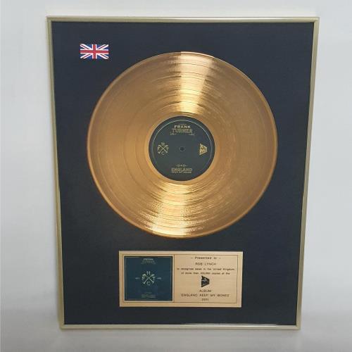 Frank Turner England Keep My Bones award disc UK FD7AWEN763917