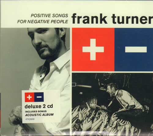 Frank Turner Positive Songs For Negative People - Sealed + Hype Sticker 2 CD album set (Double CD) UK FD72CPO638693