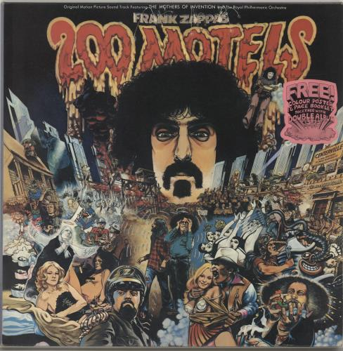 Frank Zappa 200 Motels - Complete with Booklet & Poster UK 2-LP