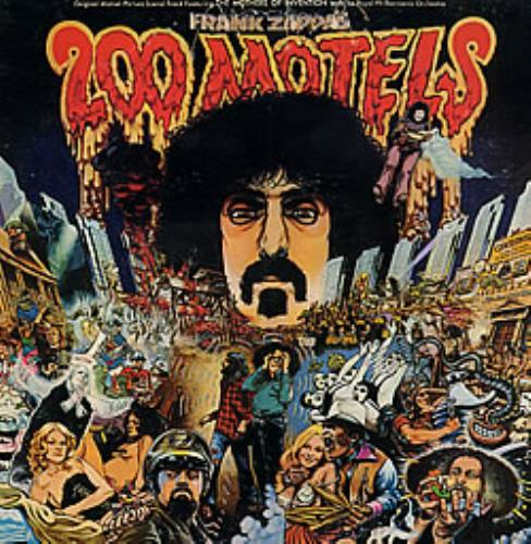 Frank Zappa 200 Motels Canadian 2 Lp Vinyl Record Set