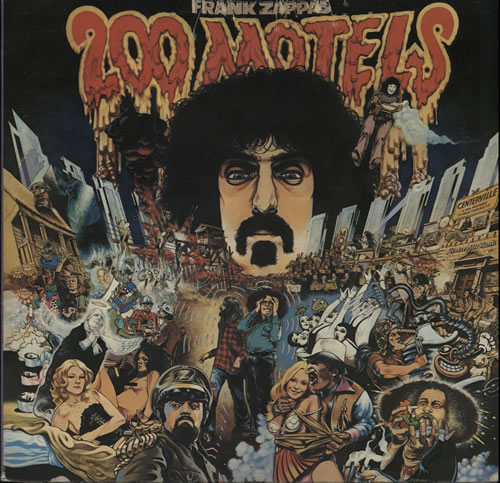 Frank Zappa 200 Motels 2-LP vinyl record set (Double Album) UK ZAP2LMO570730