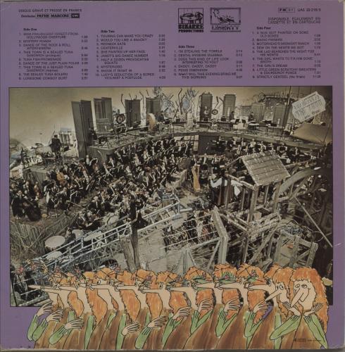 Frank Zappa 200 Motels 2-LP vinyl record set (Double Album) French ZAP2LMO756287