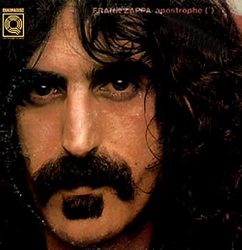 Frank Zappa Apostrophe (') - Quad vinyl LP album (LP record) US ZAPLPAP202591