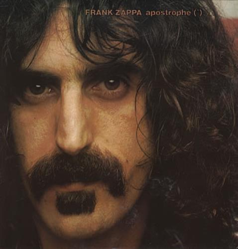 Frank Zappa Apostrophe German Vinyl Lp Album Lp