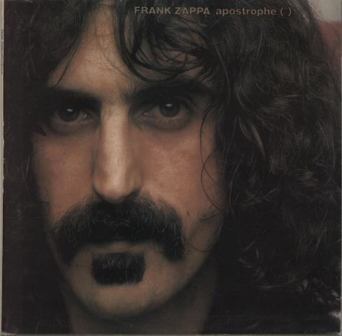 Frank Zappa Apostrophe 1st Ex Uk Vinyl Lp Album Lp