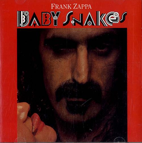 Frank Zappa Baby Snakes CD album (CDLP) UK ZAPCDBA613714