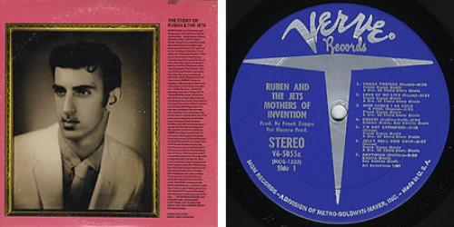 Frank Zappa Cruising With Ruben Amp The Jets Blue Verve Us