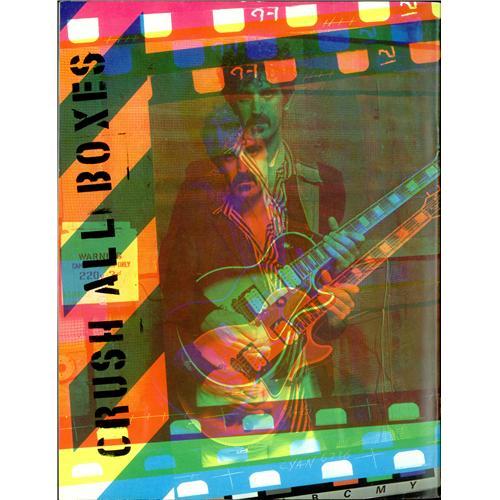 Frank Zappa Crush All Boxes Fall Tour 80 Us Tour