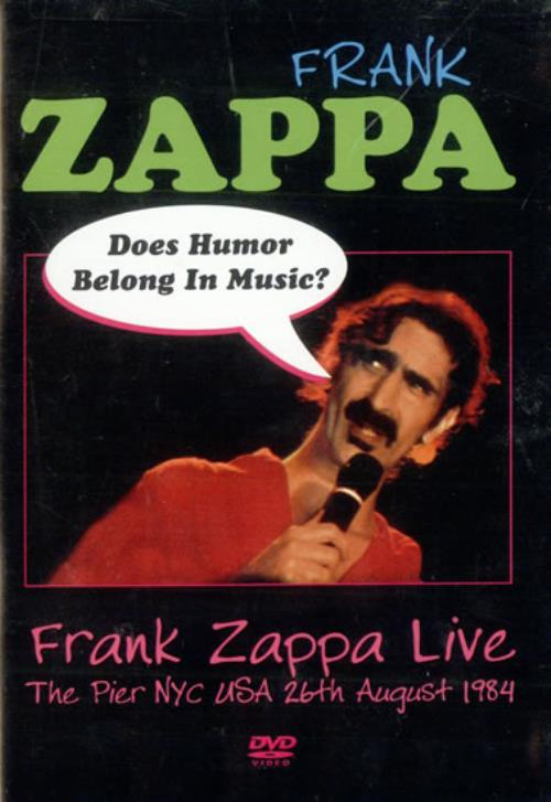 Frank Zappa Does Humour Belong In Music Us Dvd 500098