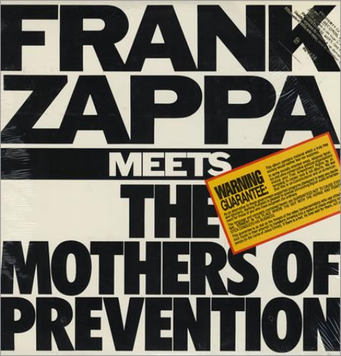 Frank Zappa Frank Zappa Meets The Mothers Of Prevention Us